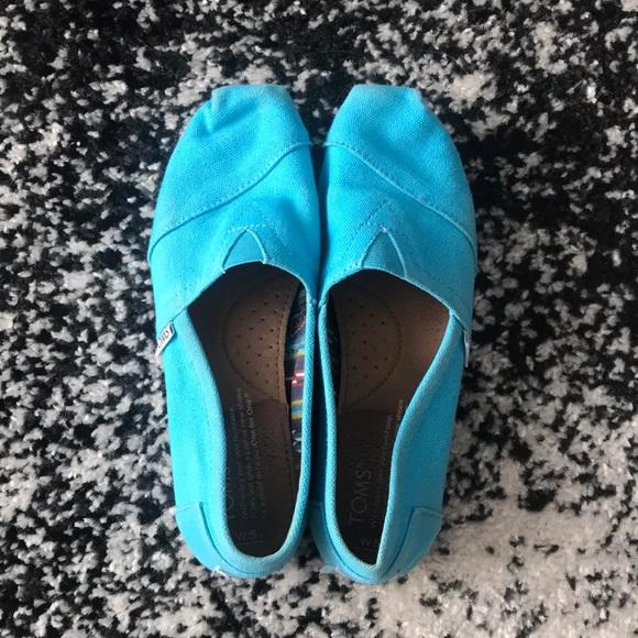 Toms Shoes - Bright Blue Toms